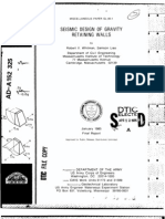 CWALSHT retaining wall designpdf Soil Mechanics Structural