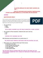 Questionnaire Evaluation