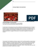 Casablanca Conference Report (1)