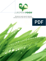 European Food Catalog