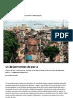 Os Descontentes Do Porto.