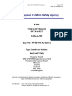 EASA-TCDS-A.182_Bae_146---AVRO_146_RJ-02-20102010