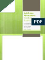 Substratos Alternativos
