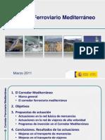Estudio Tecnico Del Corredor Mediterraneo