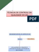 CONTROLE DE POLUIÇÃO - AULA AR 3