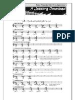 Some Notes for the New Improviser