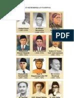Photo Pahlawan Nasional