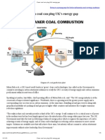 Clean Coal Technology