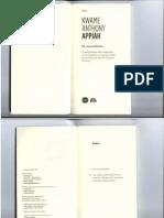 Cosmopolitismo Appiah Libro