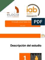 IV Estudio anual Redes Socielas 2012, L@s españoles en las Redes Sociales