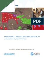 Managing Urban Land Information