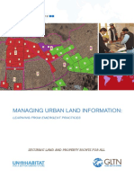 Managing Urban Land Information