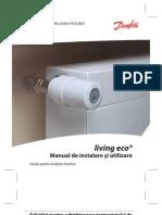 Living Eco - Manual Instalare Utilizare