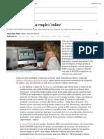 Innovar para buscar empleo 'online' | Economía | EL PAÍS