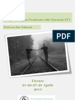 Terapia Di Coppia Focalizzata Sulle Emozioni EFT FIRENZE 25 - 28 Aprile 2013