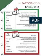 Agenda Participactiva Enero