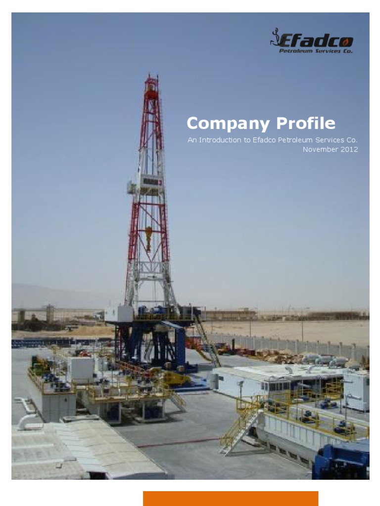 Efadco Petroleum Services Co  Profile | Oil Well | Petroleum