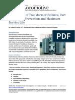 An Analysis of Transformer Failures, Part 2