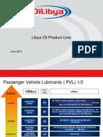 Libya Oil Product Line Offer