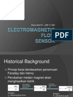 Electromagnetic Flow Sensor