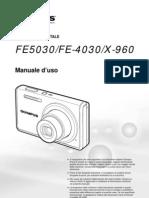 User Manual Olympus FE5030/FE-4030/X-960
