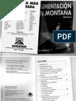 Libro Alimentacion en Montaña