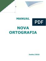 Manual Nova Ortografia - SESI EaD