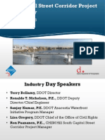 South Capitol Street Corridor Project Industry Day Presentation