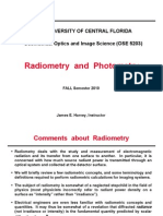 4.0 Radiometry Photometry
