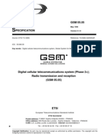 ETSI GSM Specification