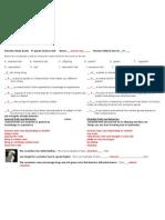 genetics study guide answers