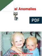 dental anomalies