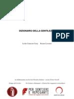 Dizionario Della Gentilezza