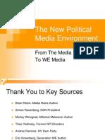 New Political Media Environment Compress