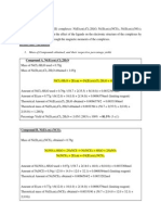 Inorganic Lab Report