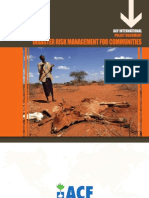 DISASTER RISK MANAGEMENT FOR COMMUNITIES
