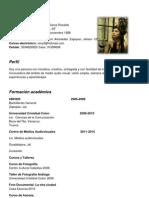 Curriculum Renata