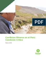 Conflictos Mineros en El Peru