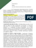 Conteúdo programático MPU - Técnico Administrativo