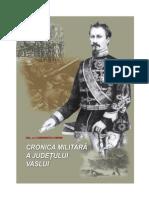 Cronica militara a judetului Vaslui