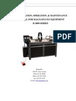 D-2000 Series Manual