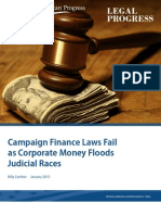 Campaign Finance Laws Fail as Corporate Money Floods Judicial Races