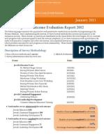 The Breman Museum JFGA Outcomes Report 2012