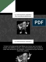 La indumentaria metalera-Alejandro Osvaldo Patrizio