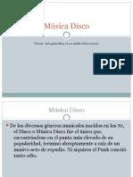Música Disco-Alejandro Osvaldo Patrizio