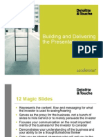 12 Magic Slides Investor Presentation Presenting Template