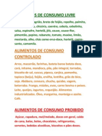 Alimentos De Consumo Livre