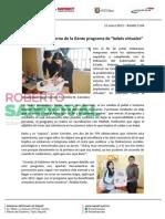 """12-01-13 Boletin 1144 Implementa Gobierno de la Gente programa de """"bebés virtuales"""""""