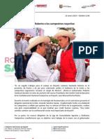 12-01-13 Boletin 1146 Une Roberto a Los Campesinos Nayaritas