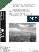 Inventario Agronxmico Del Almendro de La Provincia de Granada BAJA